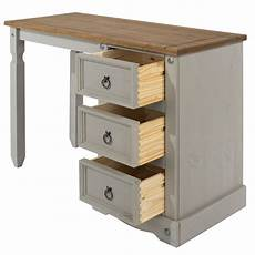 caerleon grey 3 drawer dressing table the joinery