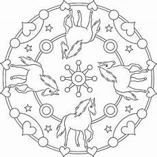 Gratis Malvorlagen Pferde Mandala Mandala Pferd Ausmalbilder Pferde Malvorlagen Pferde