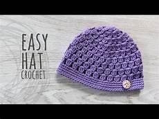 crochet easy tutorial easy crochet hat