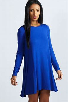 boohoo womens april sleeve swing dress ebay