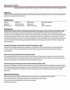 New Esthetician Resumes 12 Sample Esthetician Resume 2016 Samplebusinessresume