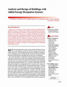 Analysis And Design Of Energy Systems Pdf Download Pdf Analysis And Design Of Buildings With Added Energy