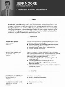 Visual Cv Template Cv Templates 20 Options To Improve Your Cv Visualcv
