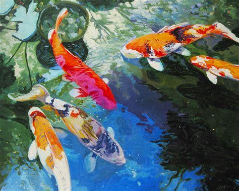 Japanese Koi Art