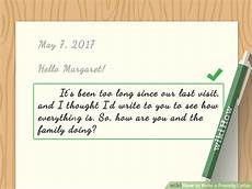 Example Of A Short Friendly Letter 4 Ways To Write A Friendly Letter Wikihow