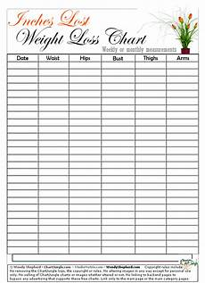 Weekly Weight Loss Chart Name