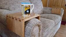 Sofa With Cup Holder 3d Image by Diy Sofa Drink Holder Using Simple Box Joints