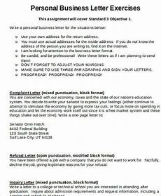 Personal Business Free 5 Personal Business Letter Samples In Ms Word Pdf