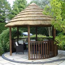 circular gazebo 3 8m premium thatched garden gazebo gardener