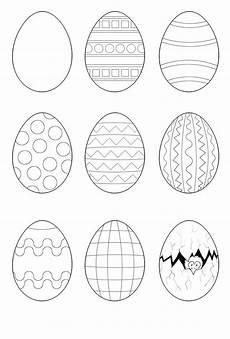 Ostern Malvorlagen Kostenlos Zum Ausdrucken Osterei Malvorlagen Ostern Zeichnung Osterei Ausmalbild