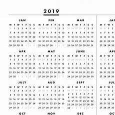 at a glance calendar 2020 2019 2020 at a glance one page printable calendar monday