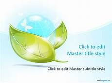 Ppt Background Themes Free Free Eco Earth Ppt Template