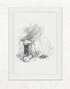 Winnie Pooh Malvorlagen Din A4 Framed Mr Sanders A4 Print Winnie The Pooh Classic