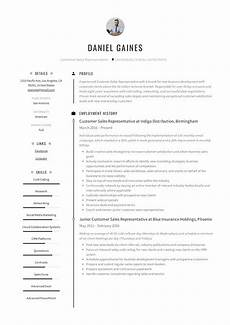 Example Of Sales Resumes Guide Customer Sales Representative Resume 12 Samples