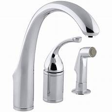 Kohler Kitchen Faucet Kohler K 10430 Cp Forte 3 Single Handle Side Sprayer