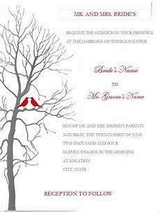 Ms Word Invitation Templates Free Download Free Wedding Invitation Templates For Mic Wedding