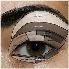 Mary Eyeshadow Application Chart The Glam Life Applying Eyeshadow A Fool Proof Guide