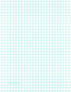 Graph Paper 8x11 Printable Graph Paper With Three Lines Per Inch On Letter