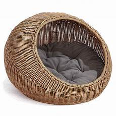 d garden wicker cat bed dome for medium indoor cats a