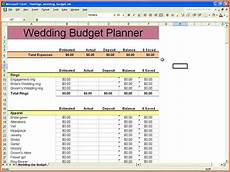 Spreadsheet For A Budget 9 Wedding Budget Excel Spreadsheet Excel Spreadsheets Group