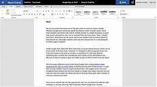 Free Office Word Online Microsoft Office Online Review Work With Your Favorite
