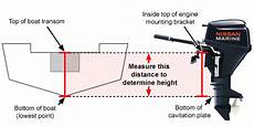 Outboard Motor Shaft Length