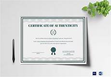 Certificate Of Authenticity Template 16 Sample Certificate Of Authenticity Documents In Pdf Psd