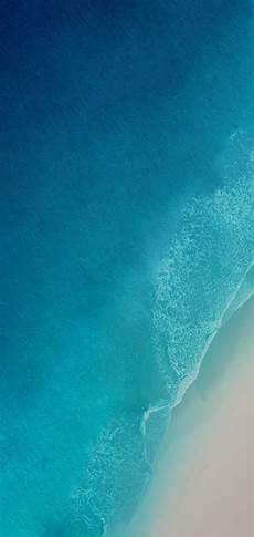 Iphone X Blue Water Wallpaper by Ios 12 Iphone X Aqua Blue Water Apple