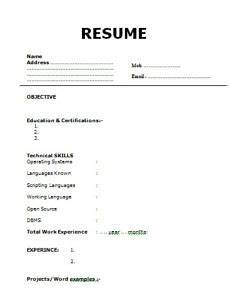 Resume Prepare 7 Steps For Write A Perfect Resume For Interview Others