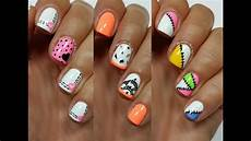 Nail Art Easy 3 Easy Nail Art Designs For Short Nails Freehand 3