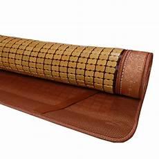 summer cooling bed mattress pad bamboo mat buy bamboo