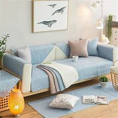 2018 new cotton embroidery sofa cover elastic cubierta