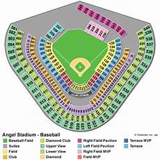 Angels Spring Training Stadium Seating Chart Los Angeles Angels Collecting Guide Tickets Jerseys