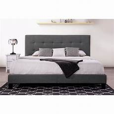 clearance modern platform bed frame with headboard bed