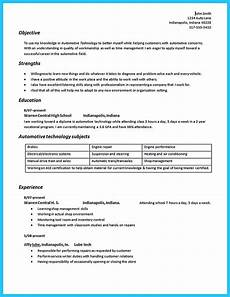 Web Technician Resumes Writing Your Great Automotive Technician Resume Resume