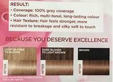Loreal Hair Color Color Chart L Oreal Excellence Creme In 8 1 Natural Ash
