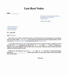 Rent Due Letter 34 Printable Late Rent Notice Templates ᐅ Templatelab