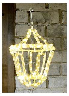 Warm White Hanging Christmas Lights Outdoor White Led Rope Light Hanging Lantern Christmas