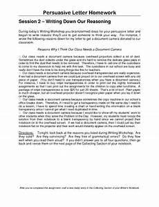 Persuasive Essay On Homework Persuasive Letter Homework By Upperelemteacher Tpt