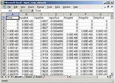 Sample Excel Spreadsheet With Data Read Spreadsheet Data Using Excel As Automation Server