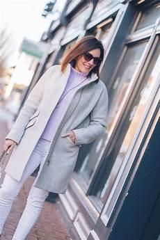 winter inspo white with lavender