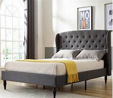 coventry upholstered headboard and platform bed frame
