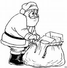 Malvorlage Nikolaus Mit Sack Nikolaus Mit Geschenksack Ausmalbild Malvorlage Comics