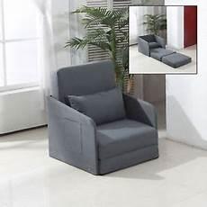 single sofa bed armchair soft floor sleeper lounger futon