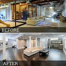 10 inspirational basement remodels before and after