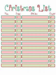 Christmas List Maker Printable Candice Craves Free Printable Christmas List