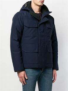goose coats for rsin canada goose goose patch pockets jacket in blue for