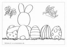 Ausmalbilder Ostern Ei Ostermotive Ausmalbilder Wie Osterhase Ostereier Und K 252 Ken