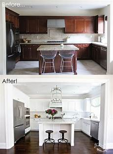 our kitchen before after
