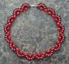 Different Bead Necklace Designs Free Pattern For Beaded Necklace Rosana Beads Magic